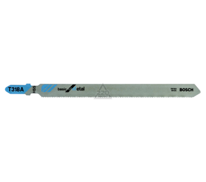 Пилки для лобзика BOSCH T318A (2.608.631.319)