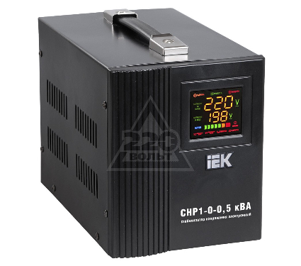 Стабилизатор напряжения IEK СНР1-0- 0.5 кВА