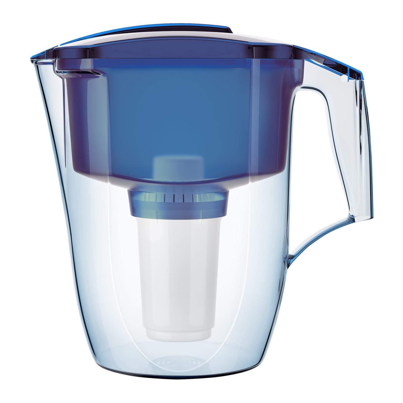 Фильтр для воды АКВАФОР Гарри  синий фильтр для воды аквафор агат синий 3 8л