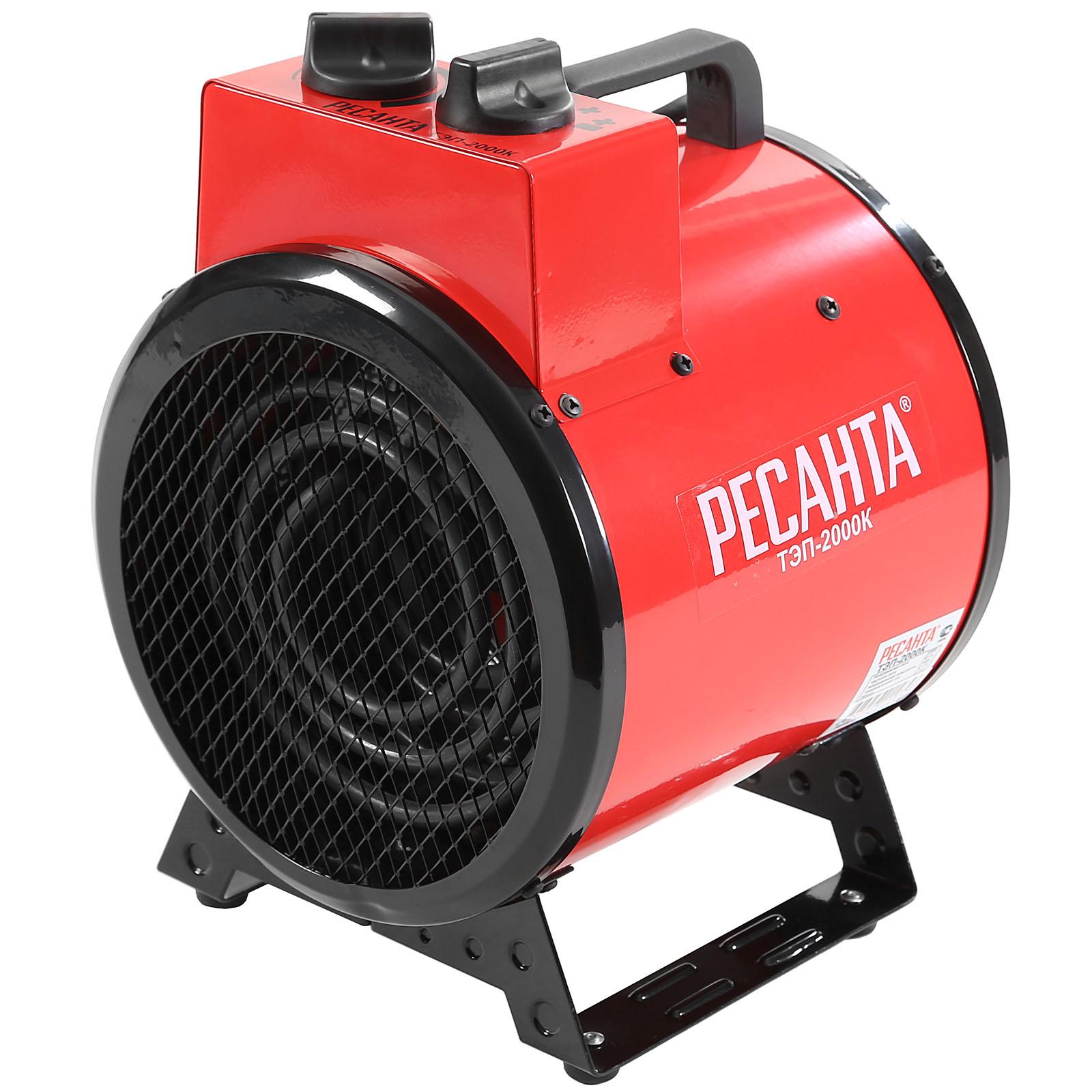 Электрическая тепловая пушка  РЕСАНТА ТЭП-2000К  электрическая