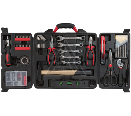 Набор инструментов в чемодане, 140 предметов FIT 65148