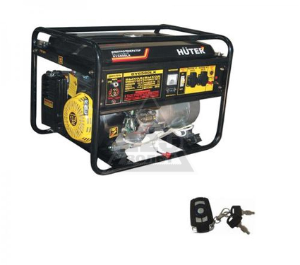 Бензиновый генератор HUTER DY6500LX + пульт