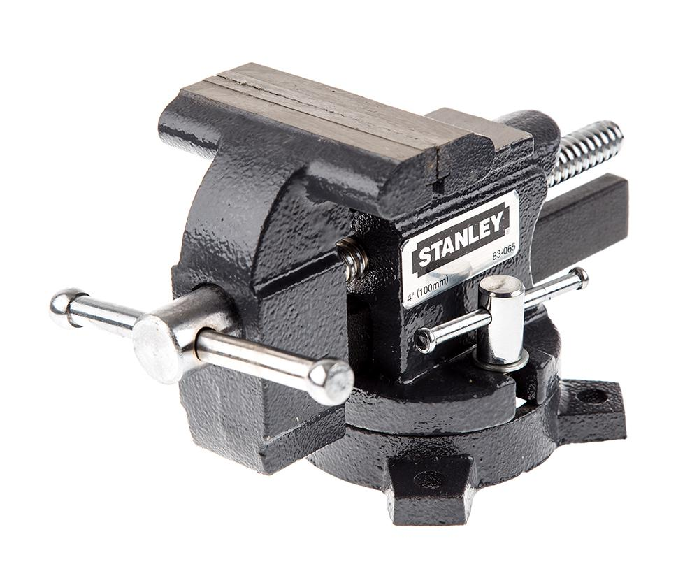 Тиски слесарные Stanley ''maxsteel'' 1-83-065  тиски stanley maxsteel для небольшой нагрузки усилие стяжки 110 кг 1 83 065