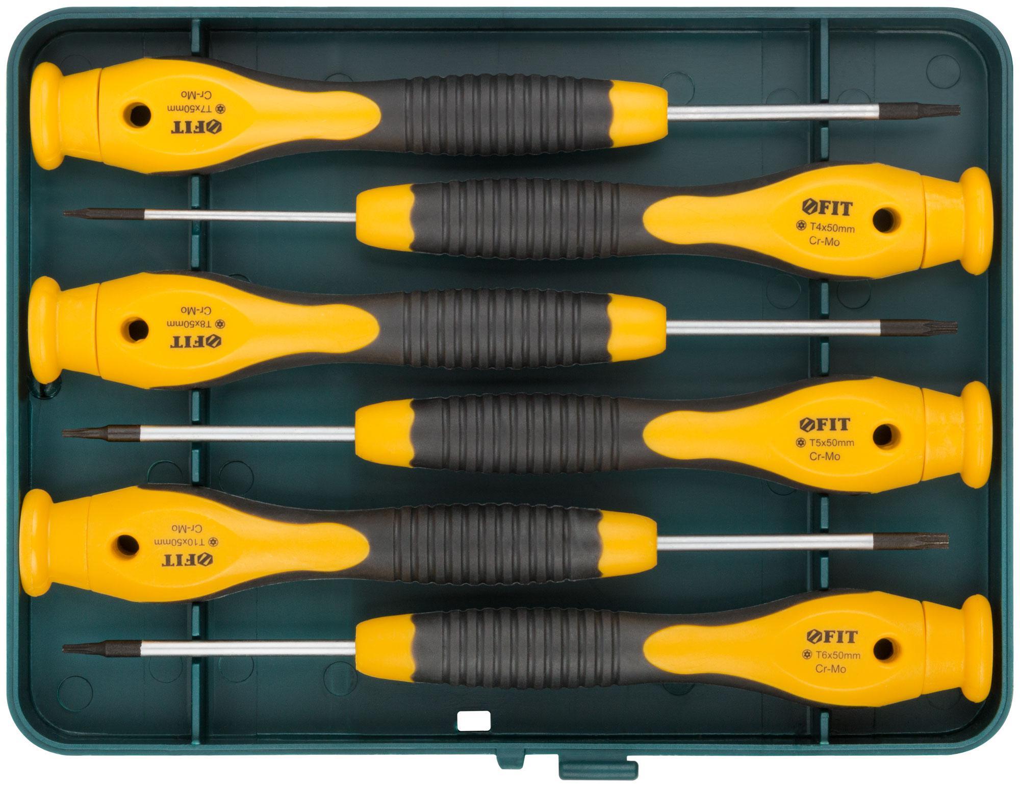Набор отверток для точных работ Fit 56168  набор отверток fit 56041