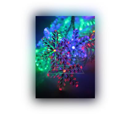 Электрогирлянда КОСМОС ''Снежинки'' KOC GIR30LEDSNOW RGB