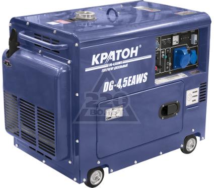 Дизельный генератор КРАТОН DG-4,5EAWS