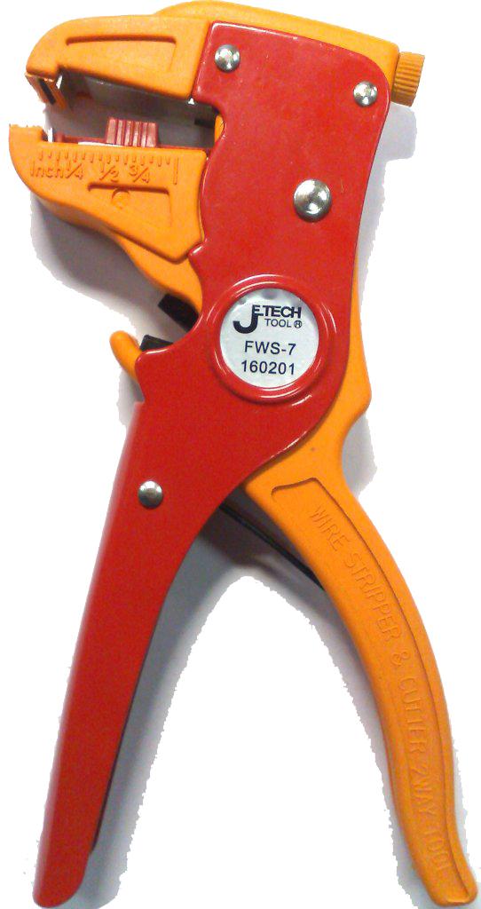 Щипцы для зачистки электропроводов Jetech Fws-7  torneo гантель с неопреновым покрытием 1 кг torneo