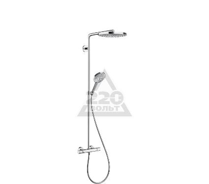 Купить Душевая система HANSGROHE Raindance Select S 240 2jet Showerpipe 27129000, душевые панели, гарнитуры, души