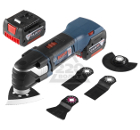 Аккумуляторный реноватор BOSCH GOP 14,4 V-EC Professional L-BOXX
