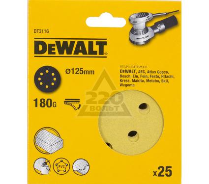 Круг фибровый DEWALT DT3116QZ