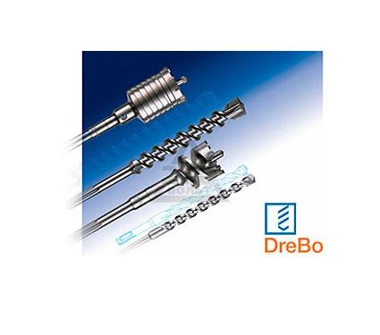 Коронка твердосплавная DREBO 65x100 мм, конус