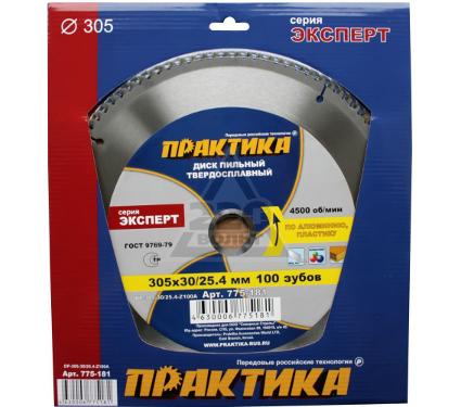 Диск пильный твердосплавный ПРАКТИКА 775-181 DP-305-30-Z100A
