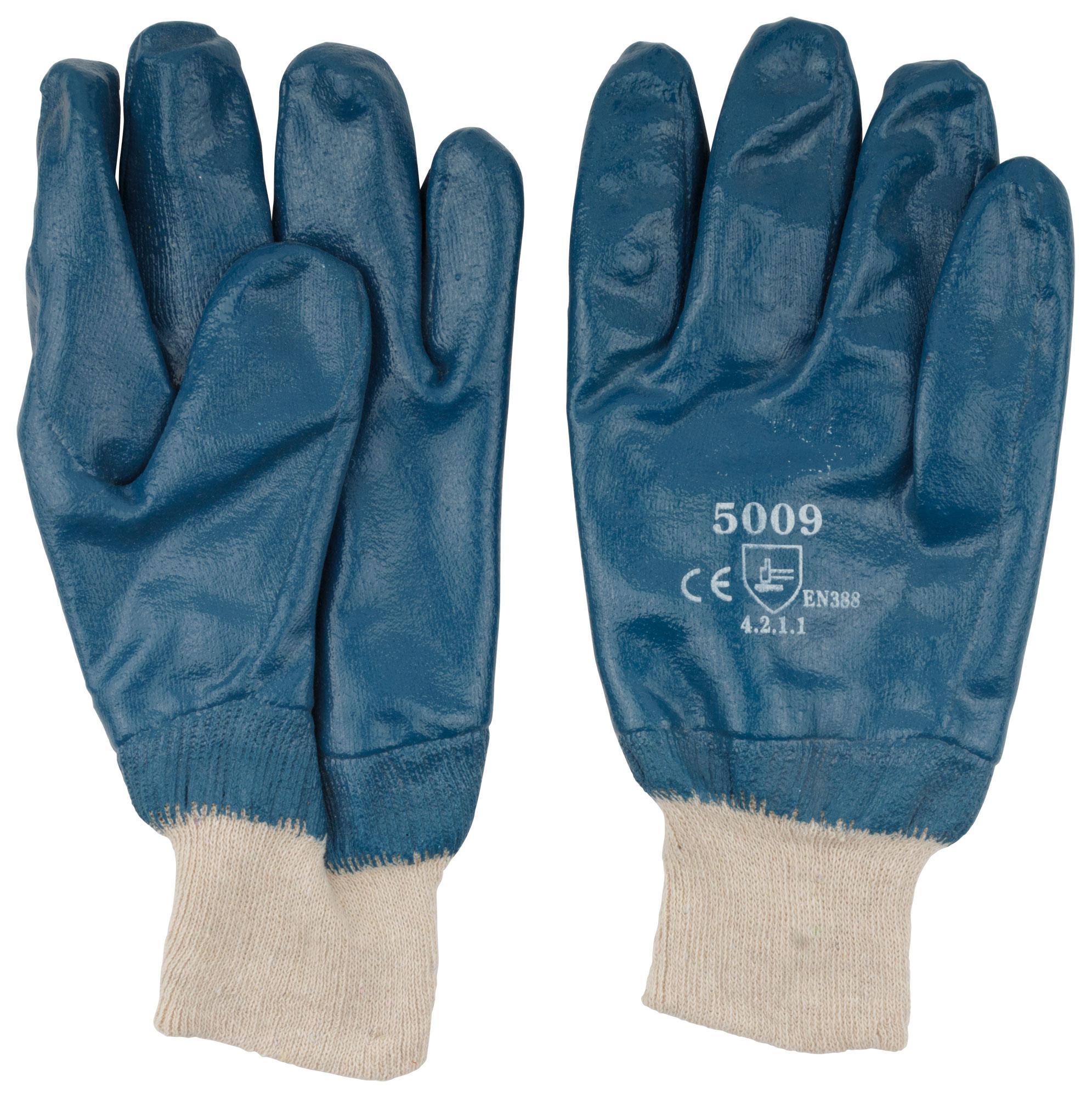 Перчатки резиновые Fit 12423