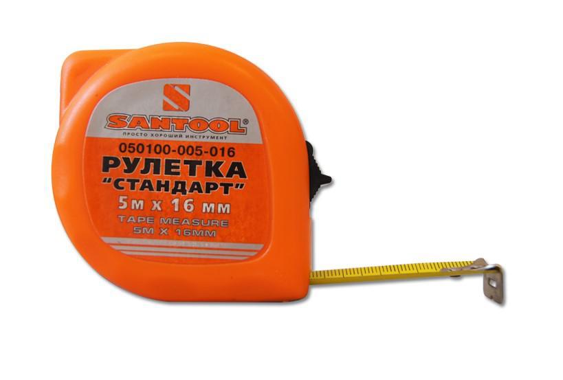 Рулетка Santool 050100-005-016