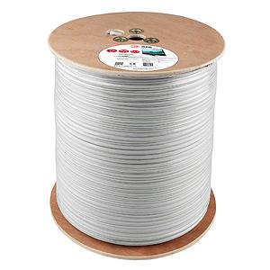 Кабель ЭРА Rg6-u 305м кабель sftp 4pr 24awg cat5e 305м rexant 01 0342