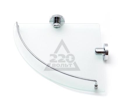 Купить Полка для ванной комнаты угловая стеклянная VERRAN 211-06, полки