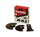 Набор насадок для МФИ MAKITA по напольным покрытиям, 3 предмета