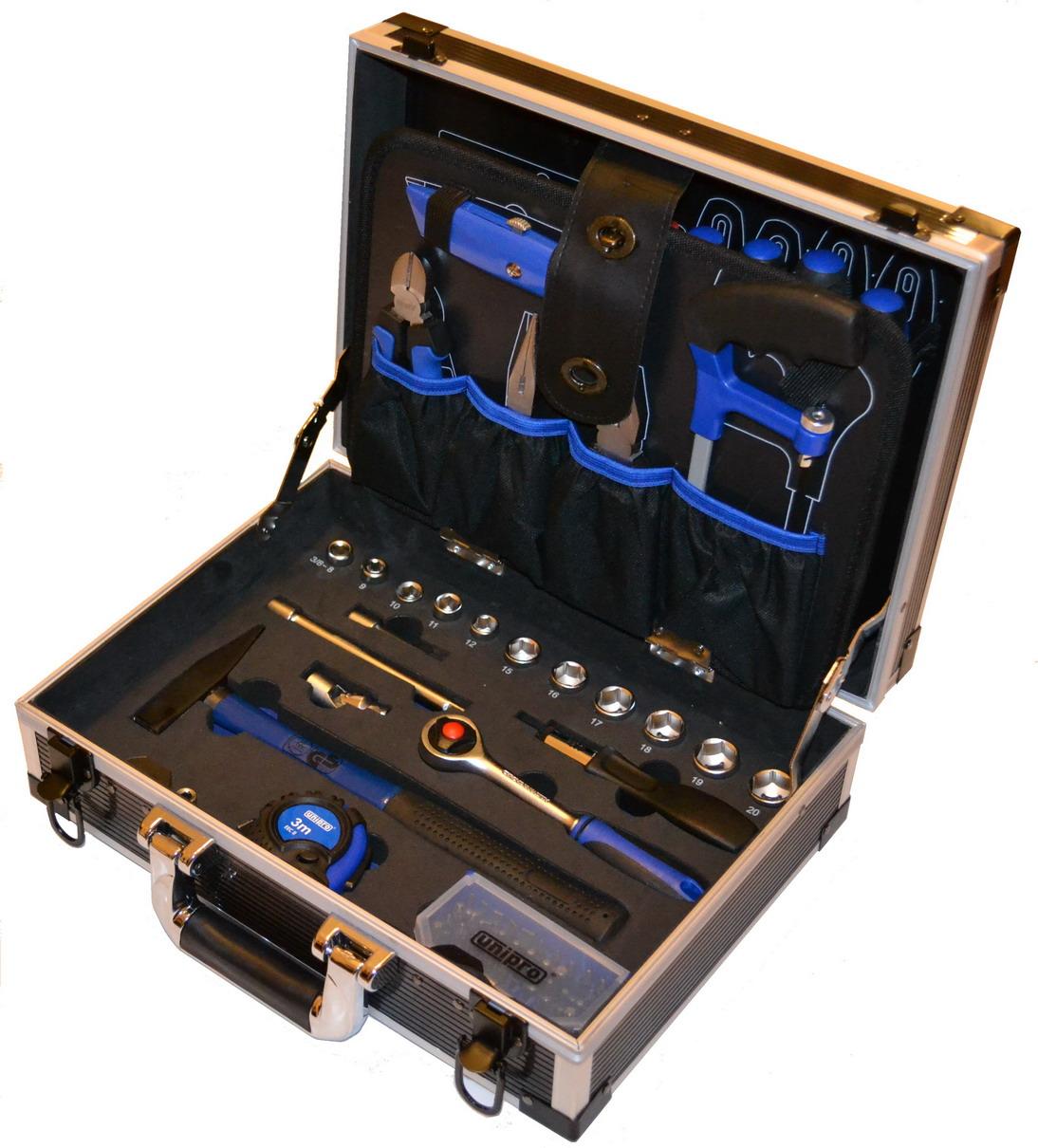 Набор инструментов в чемодане, 92 предмета Unipro U-194 basic