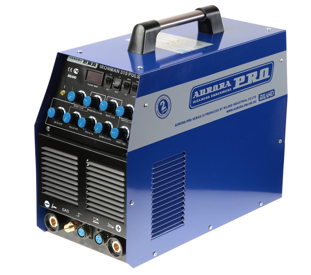 Сварочный аппарат Aurora pro Ironman 315 pulse igbt
