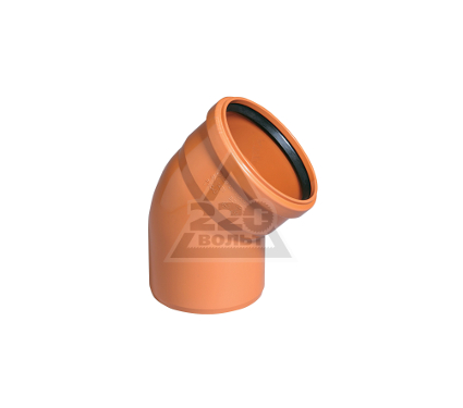 Отвод OSTENDORF 110мм 30 градусов