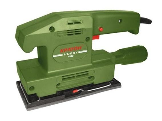 Машинка шлифовальная плоская (вибрационная) КРАТОН Оs-01 hobby