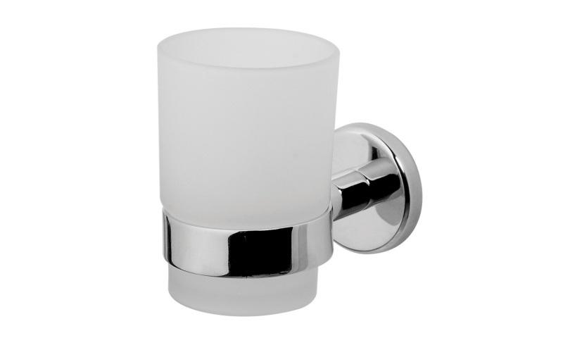 Стакан для зубных щеток Am pm A7534300 sense  смеситель для ванны коллекция sense f7510000 однорычажный хром am pm ам пм