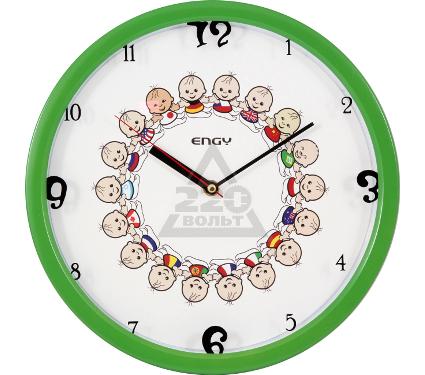 Часы настенные ENGY ЕС-29 зеленые