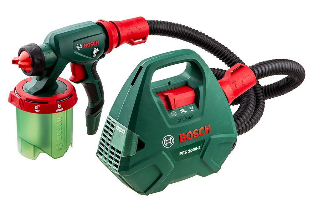 Краскопульт с выносным компрессором Bosch Pfs 3000-2