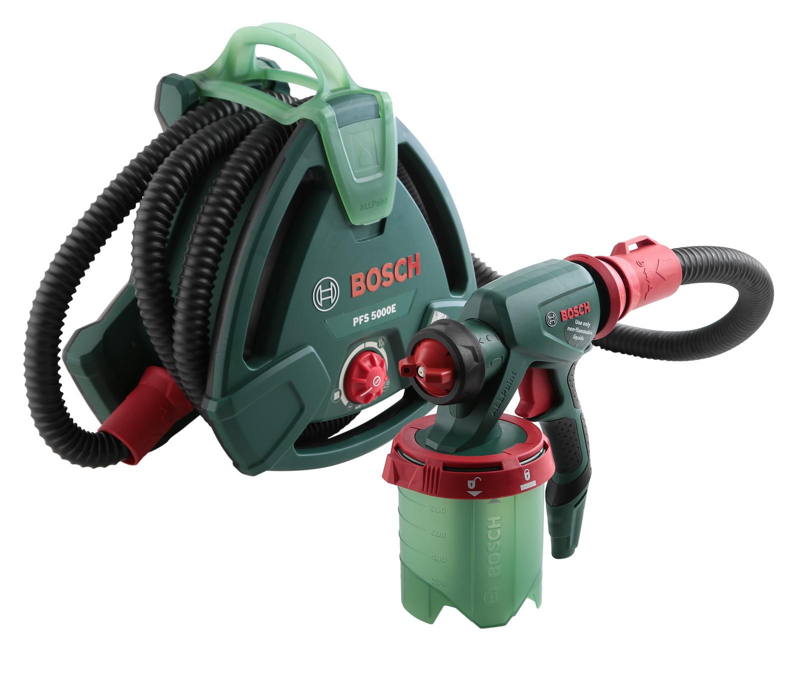 Краскопульт с выносным компрессором Bosch Pfs 5000 e
