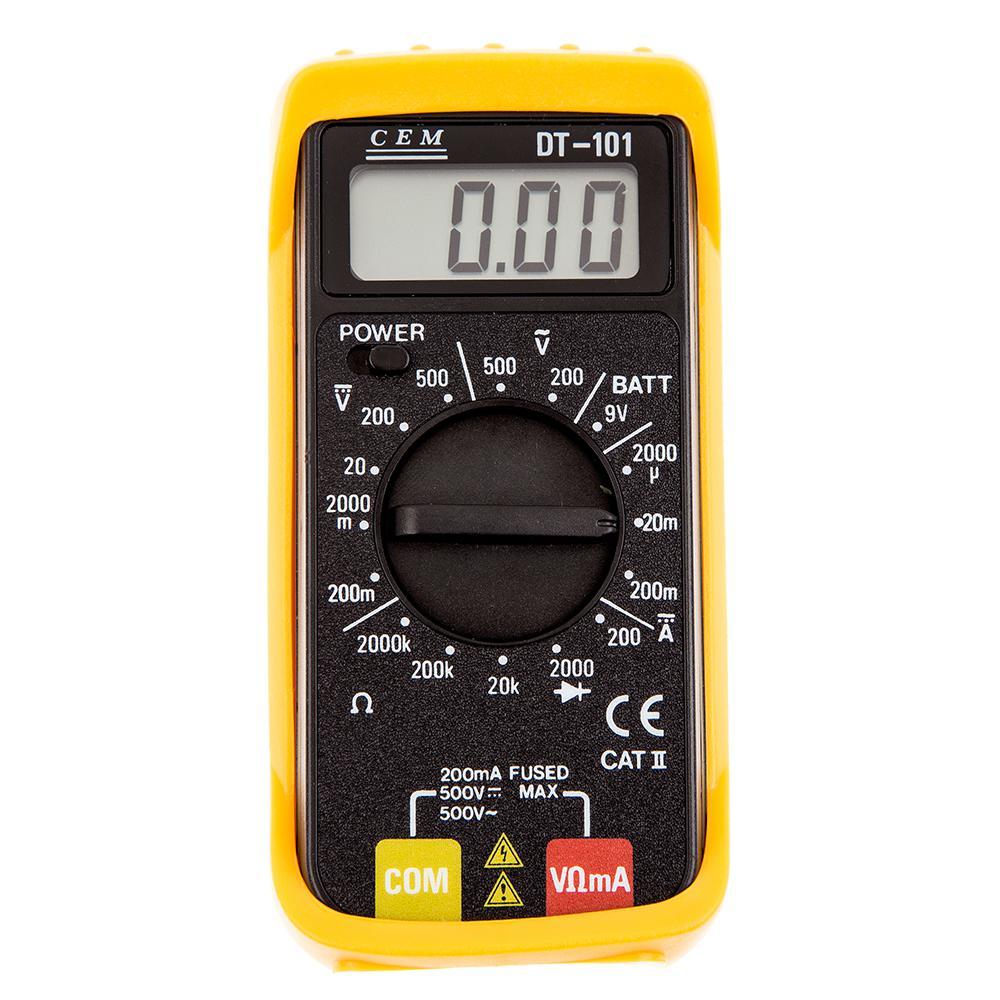 Мультиметр карманный Cem Dt-101