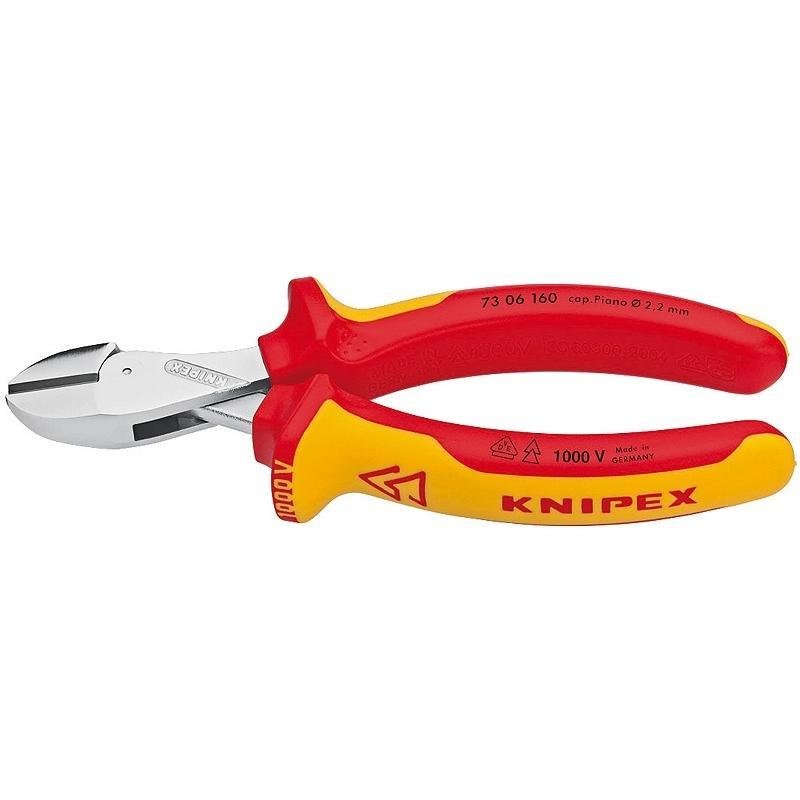 Бокорезы диэлектрические Knipex Kn-7306160  бокорезы knipex kn 7002140