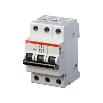 Автомат Abb S203 c25  автомат 3p 6а тип с 6ка abb s203