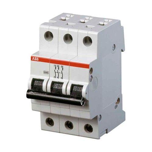 Автомат Abb Sh203l c10  автомат 3p 32а тип с 4 5ка abb sh203l