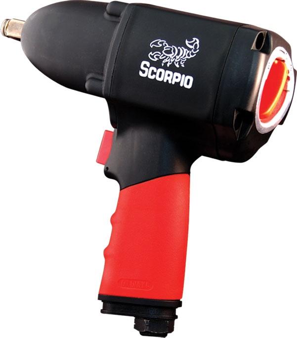 Гайковерт пневматический ударный Scorpio Yu-1281p