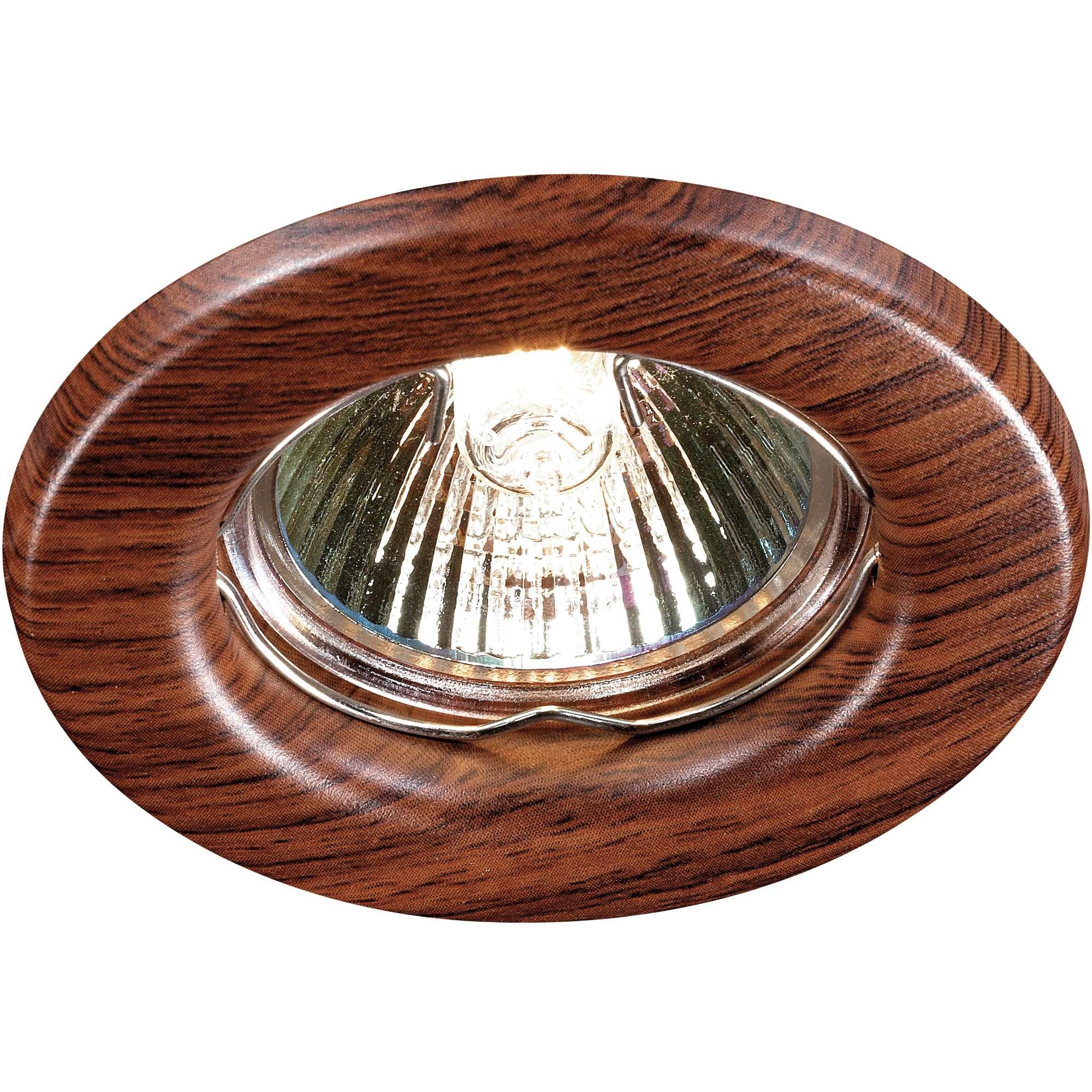 Светильник встраиваемый Novotech Wood nt12 156 369714