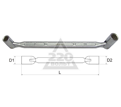 Ключ торцевой карданный 6х7 AIST 08020607A