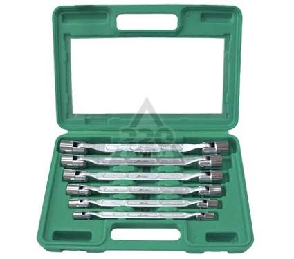 Набор ключей двусторонних с шарнирными торцевыми головками, 6 шт. AIST 0080206A