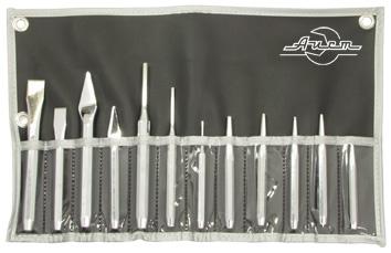 Набор ударно-режущих инструментов, 12 предметов Aist 79100112