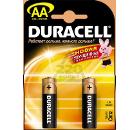 Батарейка DURACELL LR6 BP12  1.5В AA (толстая) 2шт