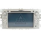 Штатное головное устройство TRINITY Ford Focus/Mondeo silver ms-fm1000
