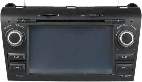 Штатное головное устройство Trinity Mazda 3 2009 ms-mt1000 от 220 Вольт