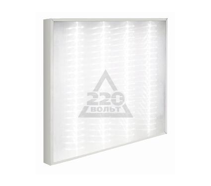 Светильник настенно-потолочный GENILED Офис Люкс 4х18 Микропризма 4700K 52W с рег. до 34W