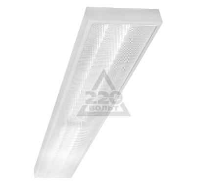 Светильник настенно-потолочный GENILED Офис Люкс 2х36 Опал 4700K 52W с рег. до 34W