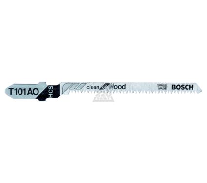 Пилки для лобзика BOSCH T101AO (3)(2.608.630.559)