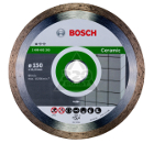 Круг алмазный BOSCH Standard for Ceramic  150 Х 22 корона (сплошной)