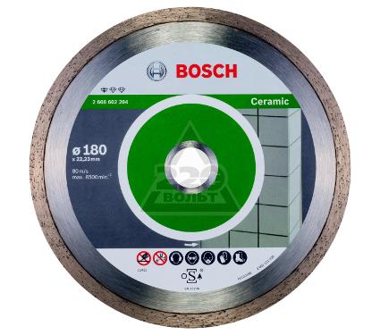 Круг алмазный BOSCH Standard for Ceramic  180 Х 22 корона (сплошной)