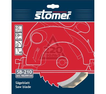 Диск пильный твердосплавный STOMER SB-210