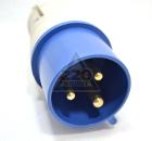 Вилка кабельная IEK 13 2P+PE