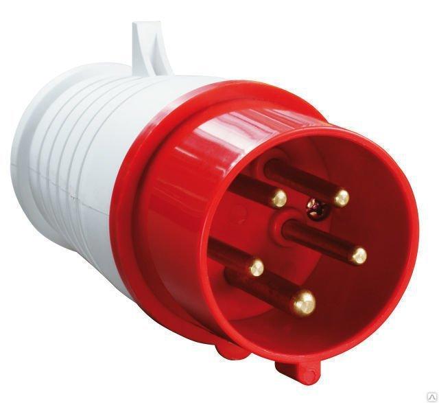 Вилка кабельная Iek 34 3p+pe
