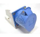 Розетка кабельная IEK 123 2P+PE